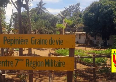 Pepiniere Centre 7ieme Region Militaire