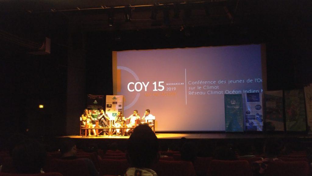 Projection du court métrage  REBOISONS NOTRE AVENIR à l'occasion de la COY 15