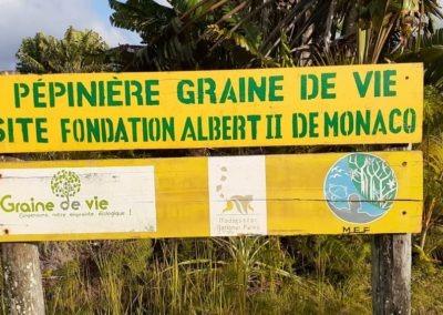 Pepiniere Site Fondation Albert 2 de Monaco