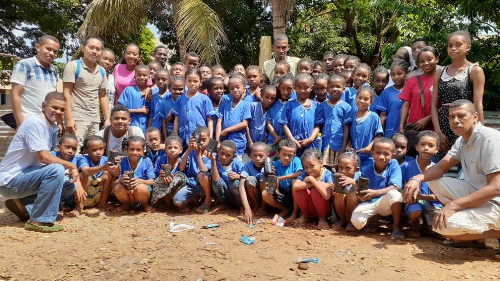 Formation gestion de pépinière, École Catholique de Bon Pasteur en partenariat avec École verte de Diego