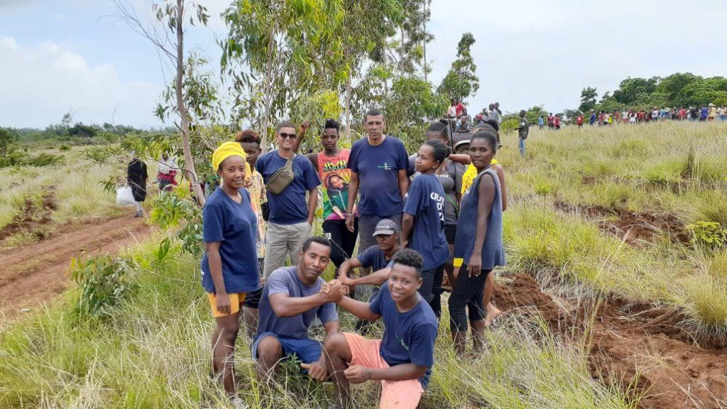 Start of the National Reforestation at Diego Sakaramy