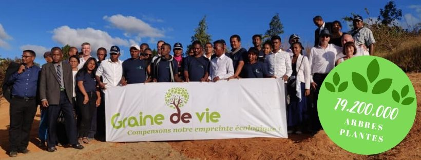 Graine de vie 192 million d'arbres