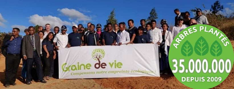 Garinedevie 35 million d'arbres